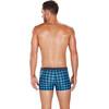 speedo Electric Flash Valmilton Spodenki kąpielowe Mężczyźni szary/niebieski